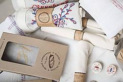 Úžitkový textil - Vrecko na chlieb s motívom klasy - 10564727_
