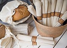Úžitkový textil - Nákupné vrecko 100 % bavlna (Vrecko bavlnené malé) - 10565096_
