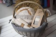 Úžitkový textil - Nákupné vrecko 100 % bavlna (Vrecko bavlnené malé) - 10565097_