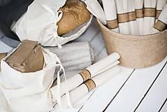 Úžitkový textil - Nákupné vrecko 100 % bavlna (Vrecko bavlnené malé) - 10565099_