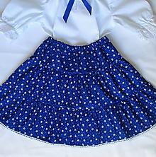 Detské oblečenie - detský ľudový odev: sukňa a košieľka - 10565317_
