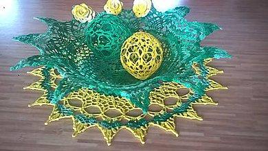 Dekorácie - Dekorácia v jarných farbách- Veľká Noc - 10563370_