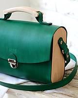 Kabelky - Kabelka na rameno HANDY BAG GREEN - 10564145_