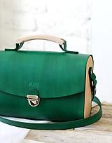 Kabelky - Kabelka na rameno HANDY BAG GREEN - 10564170_