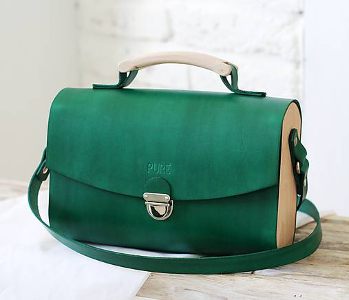 Kabelka na rameno HANDY BAG GREEN