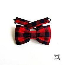 Doplnky - Pánsky motýlik - Flannel Style - 10563659_