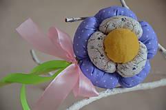 Dekorácie - Kvet tulipán - mix (Fialová) - 10566442_