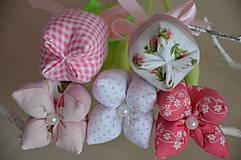 Dekorácie - Kvet tulipán - mix (Fialová) - 10566472_