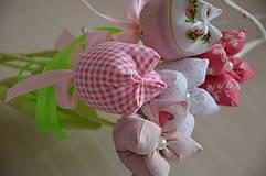 Dekorácie - Kvet tulipán - mix (Fialová) - 10566475_