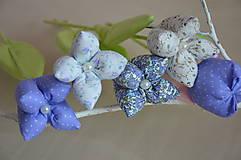 Dekorácie - Kvet tulipán - mix (Fialová) - 10566480_