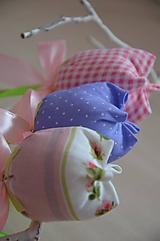 Dekorácie - Kvet tulipán - mix (Fialová) - 10566501_