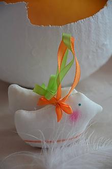 Dekorácie - Vtáčence mix - pásík - 10566367_