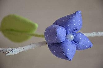Dekorácie - Kvet tulipán - mix (Fialová) - 10566441_