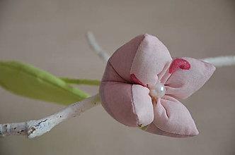 Dekorácie - Kvet tulipán - mix (Ružová, pásik) - 10566448_