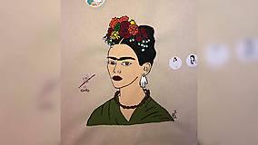 Iné tašky - ♥ Plátená, ručne maľovaná taška ♥ - 10563936_
