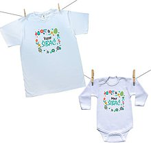 Detské oblečenie - Krásny set pre Malého a Veľkého šibača - 10564660_