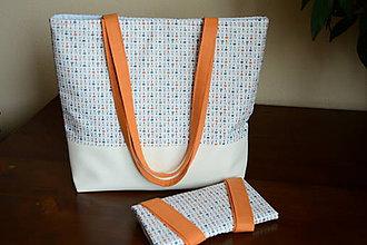 Veľké tašky - Kabela+taška - 10565073_