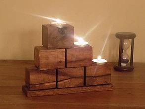 Svietidlá a sviečky - Svietnik 1. - 10565869_