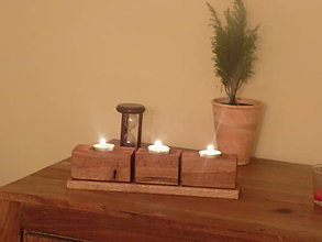 Svietidlá a sviečky - Svietnik 2. - 10565895_