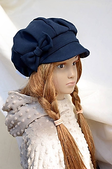 Čiapky - Tenšia baretka na jar jeseň,rôzne odtiene - 10566173_