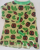 Detské oblečenie - VÝPREDAJ Lienkové šiatky - 10563986_
