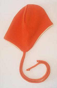 Detské čiapky - Merino čiapočka pre bábätko - 10563781_