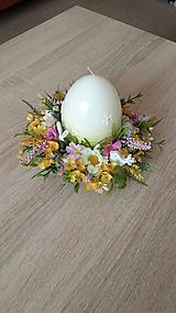 Dekorácie - Jarny svietnik - dekoracia - 10565135_