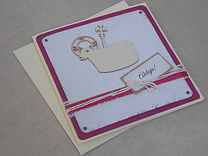 Papiernictvo - ...pohľadnica veľkonočná s barančekom... - 10563323_