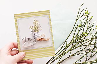 Papiernictvo - Jarná pohľadnica - 10566383_