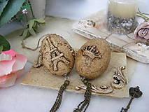 Dekorácie - Vintage vajíčka ... - 10565582_