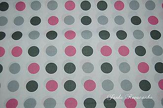 Textil - metráž guľky - 10564514_