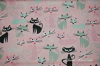 Textil - mačky - 10566064_