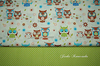 Textil - sovy - 10566093_