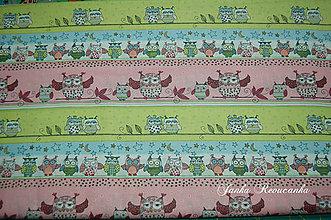 Textil - sovy - 10566107_