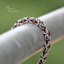 Náramky - Lady - náramok (hnedá) - 10568511_