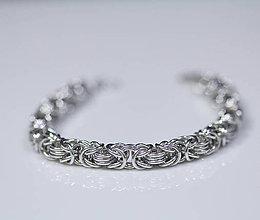 Náramky - Lady - náramok (strieborná) - 10568540_