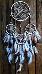 Dekorácie - Lapač snov Indián - 10568099_