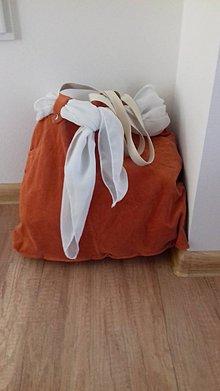 Veľké tašky - Veľká taška MENČESTER ORANGE - 10567183_