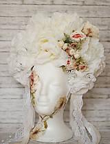 Ozdoby do vlasov - Romantická XXL svadobná parta - 10568902_