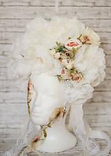 Ozdoby do vlasov - Romantická XXL svadobná parta - 10568907_
