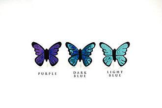 Náušnice - motýl - 10567878_