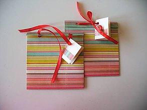 Papiernictvo - obal na CD alebo šperk a iné darčeky - 10567558_