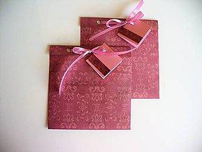 Papiernictvo - obal na CD alebo šperk a iné darčeky - 10567618_