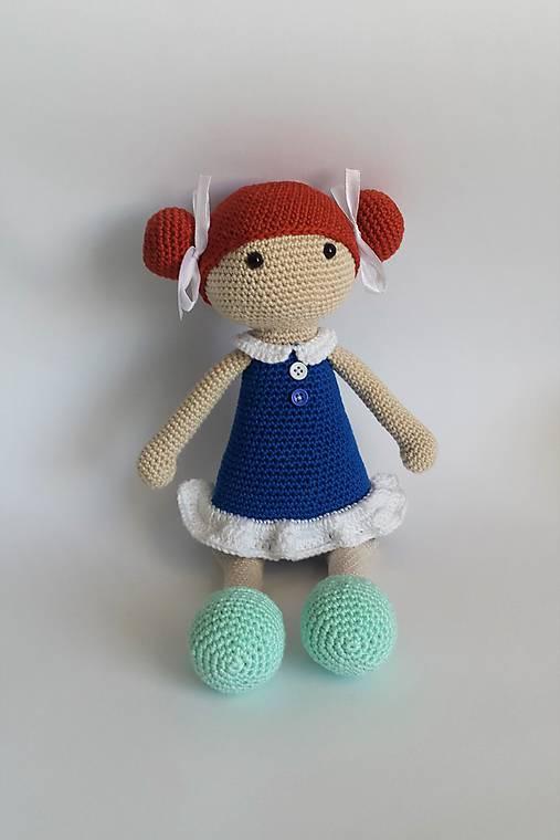 Slečna Copíková I Háčkovaná bábika (Modrá)