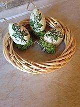 Dekorácie - Konvalinkové vajíčka väčšie - 10567946_