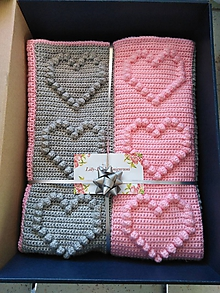 Textil - Srdiečková deka - 10567569_