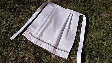 Iné oblečenie - Svadobná zásterka pre nevestu - 10567939_