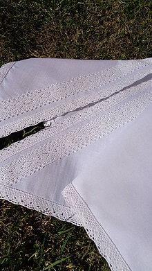 Šatky - Svadobná šatka na čepenie nevesty biela - 10568063_