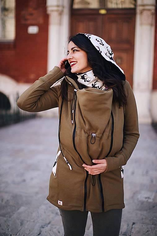 Nosičský kabátik white hunter