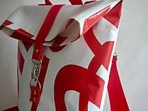 "Batohy - Banner batoh ""Červený"" - 10567134_"